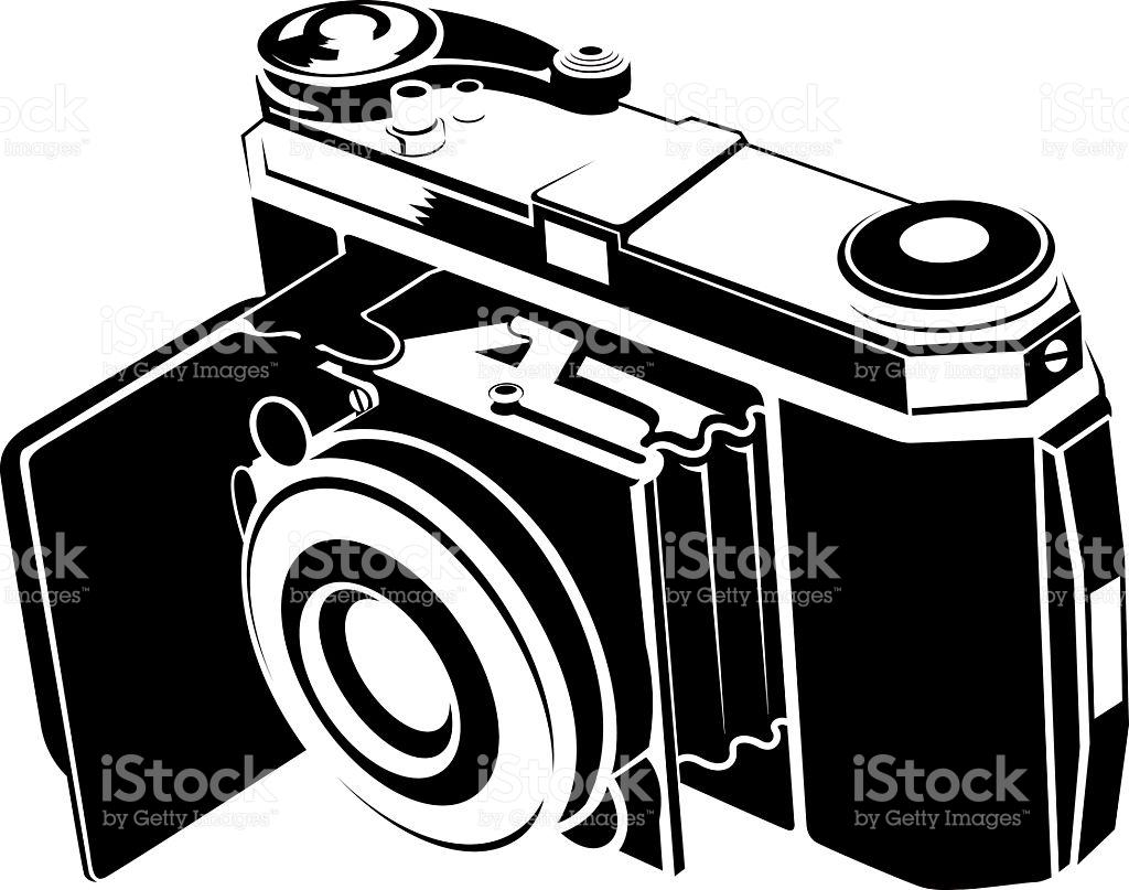 Old Film Camera stock vector art 134039188.