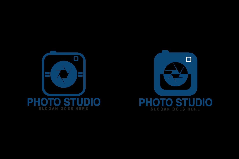 Photo Studio logo design. Photographer logo..