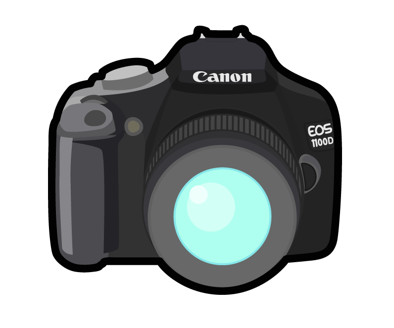 photography dslr clipart canon - Clipground
