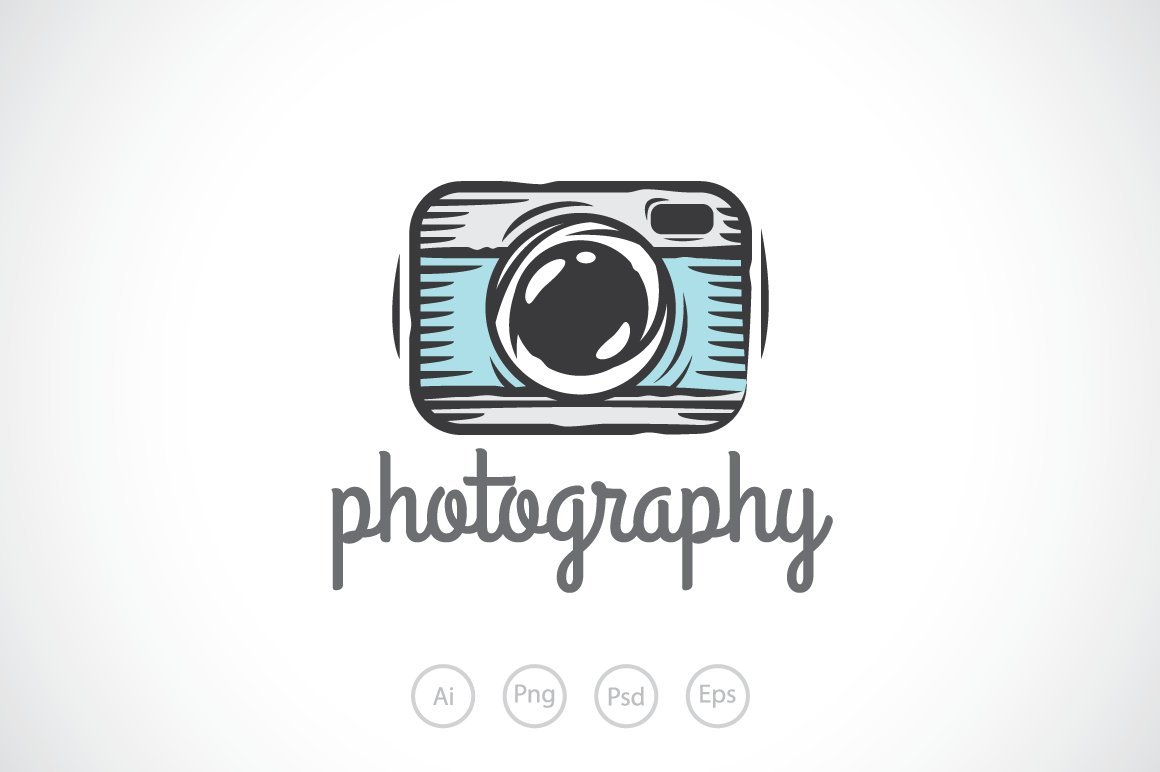 Graphic Design Camera Logo Png.