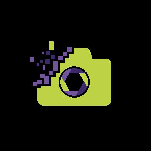 Pixels Camera Photography Logo.