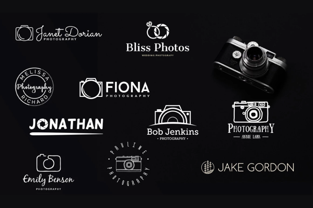 10 Free Photography Logo Templates.