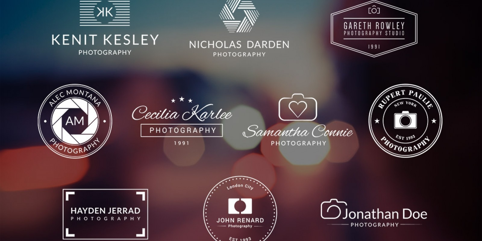 Photography Logo Template.