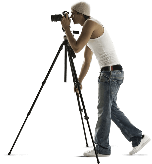 Photographer PNG Photo.