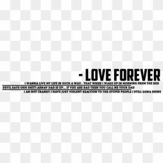 Love Text Png Transparent Images.