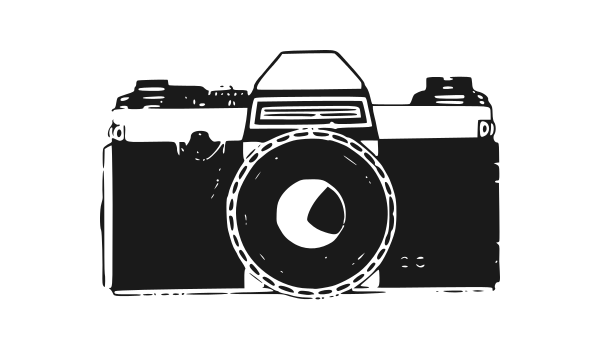 Old Photo Camera Vector (EPS, SVG, PNG).