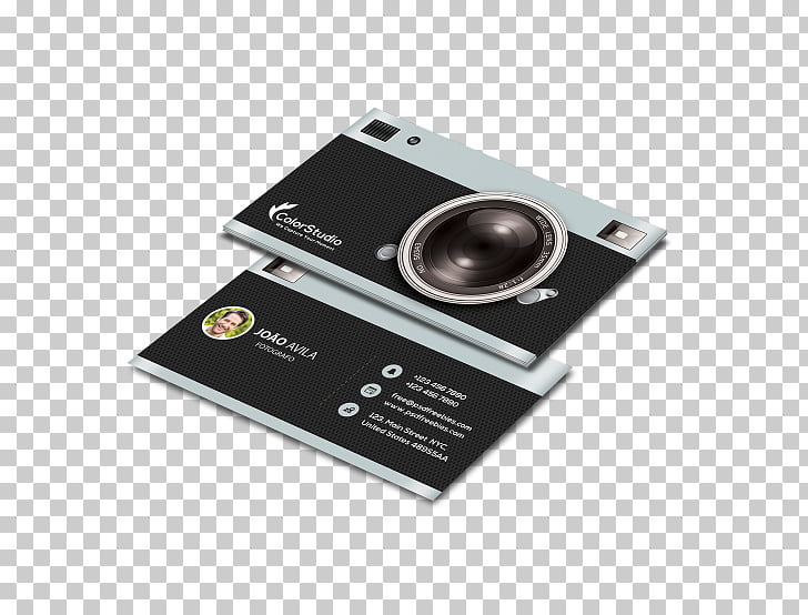 Photography Business Cards Photographer Camera Visiting card.