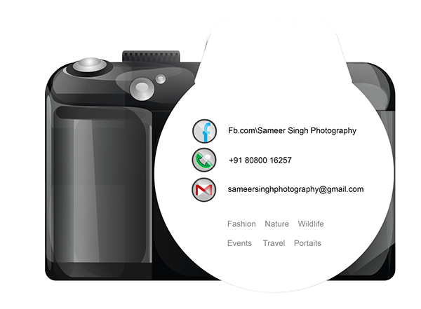 Photography visiting card design png 1 » PNG Image.