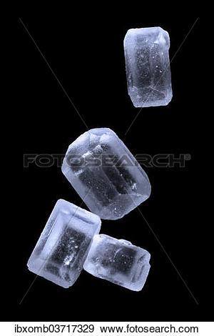 """Stock Photograph of """"Sugar crystals, ordinary table sugar."""
