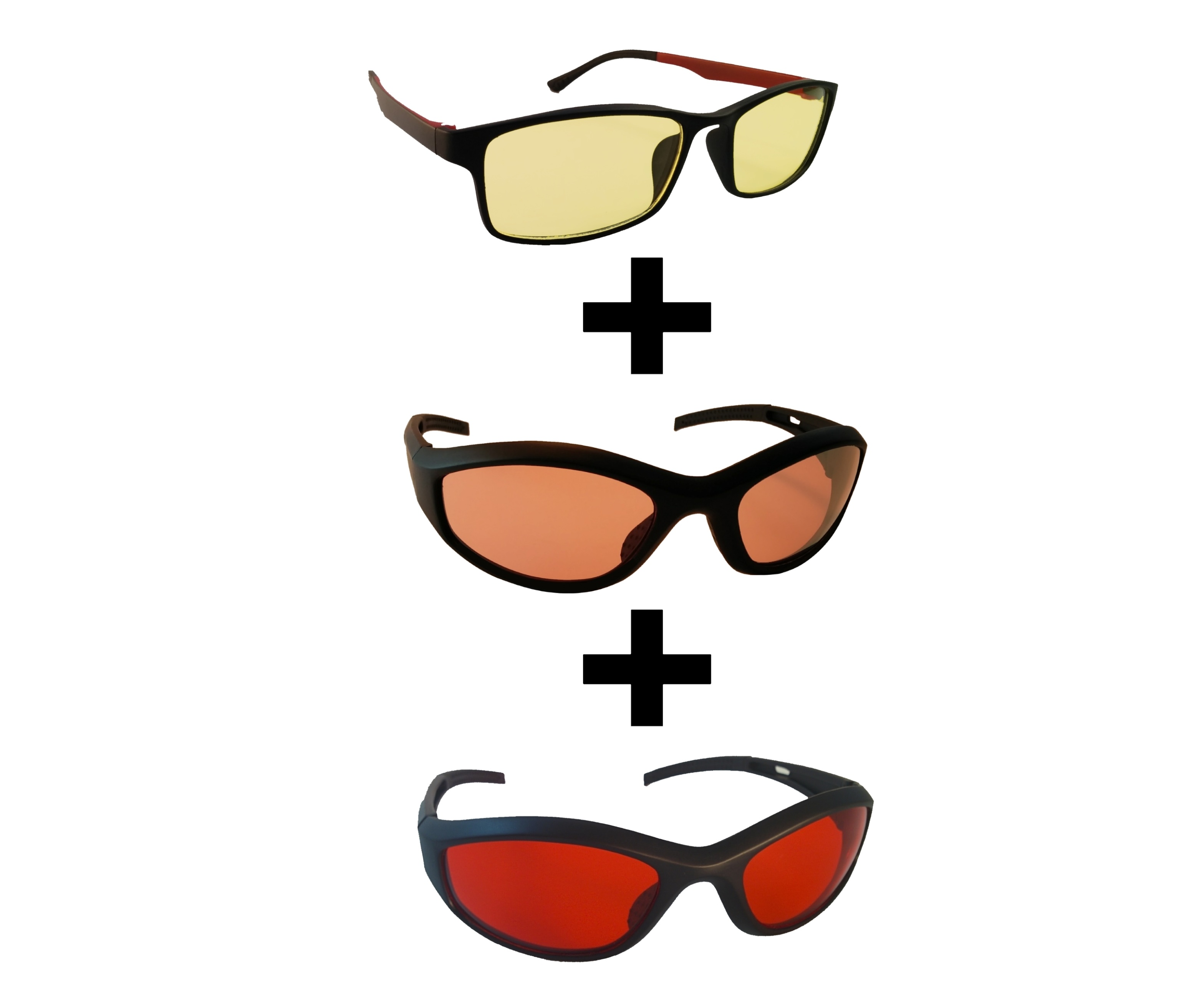 Photophobia Glasses Bundle.