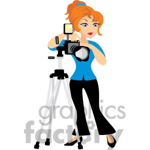 Photoprapher clipart #20