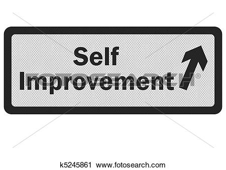 Clipart of Photo realistic 'self improvement' k5245861.