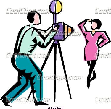 Photo shoot clipart.