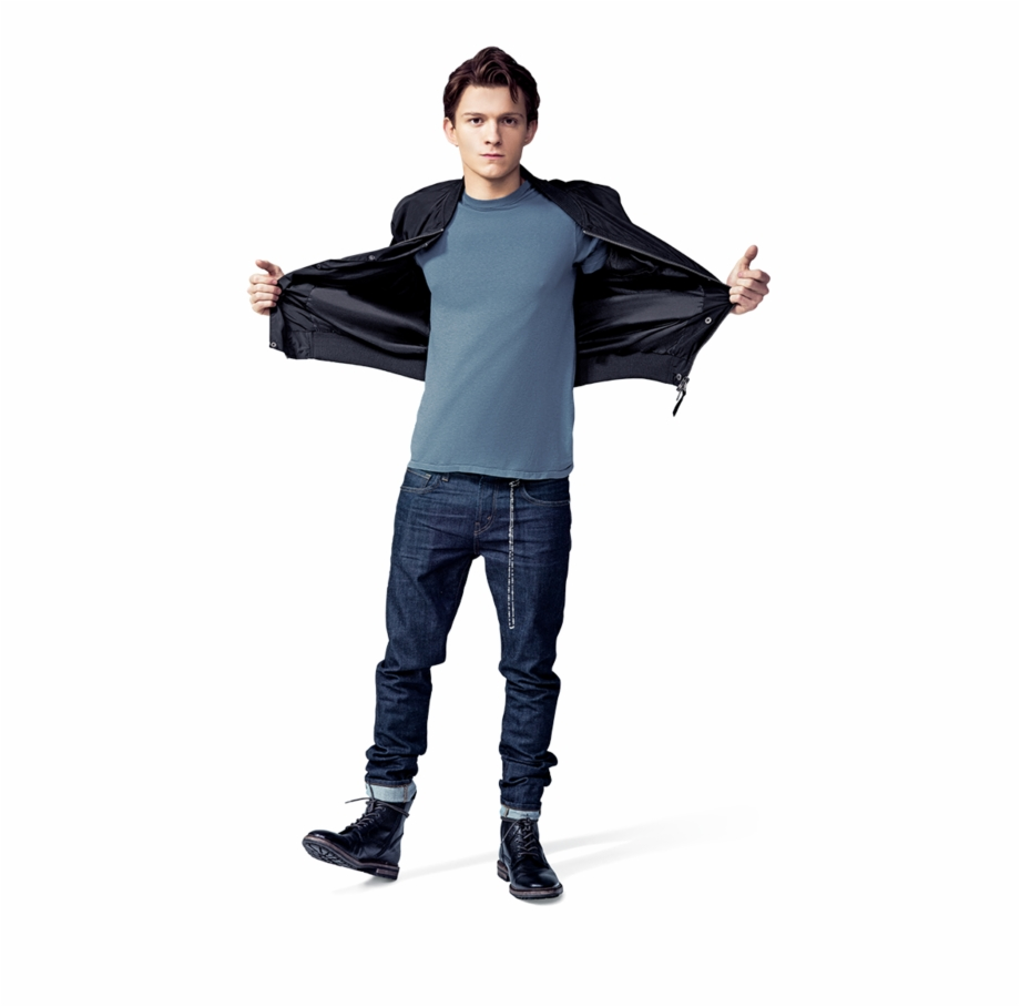 Tom Holland Cnet Photoshoot Free PNG Images & Clipart.