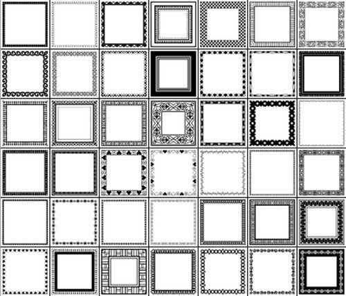 Border Clip Art: 1K+ Tools for Making Photo Frames.
