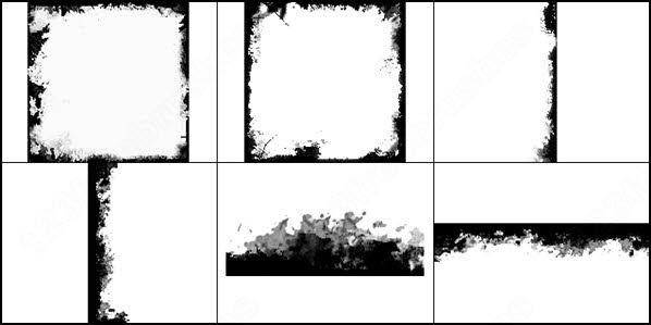 Chalk frame photoshop brushes download (32 photoshop brushes.