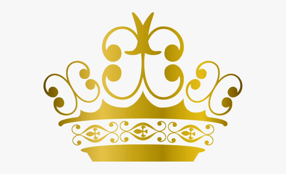 Photoshop Clipart Gold Prince Crown.