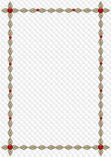 Set of metal, gold and silver, png frames with jewels png for.