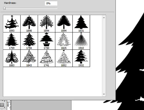 Photoshop Clipart Tree Brushes.