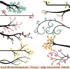 Clipart Tree Branch For Photoshop.