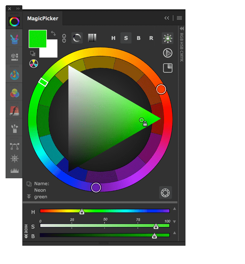 Anastasiy / Photoshop CC CS6 CS5 CS4 and CS3 Color Wheel.