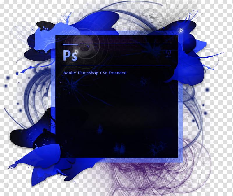 Awesome shop Cs Splash Screen transparent background PNG.