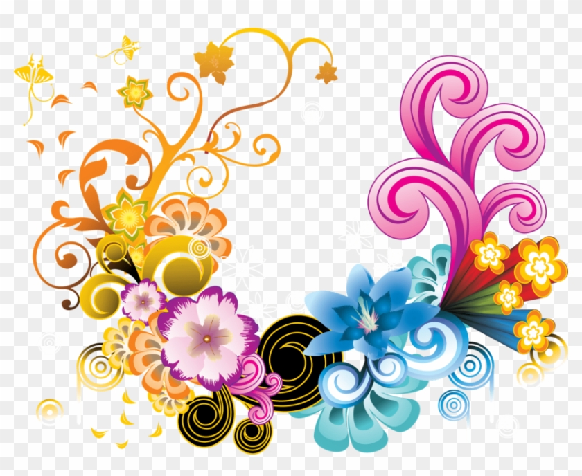 Free Png Download Floral Colorful Png Images Background.