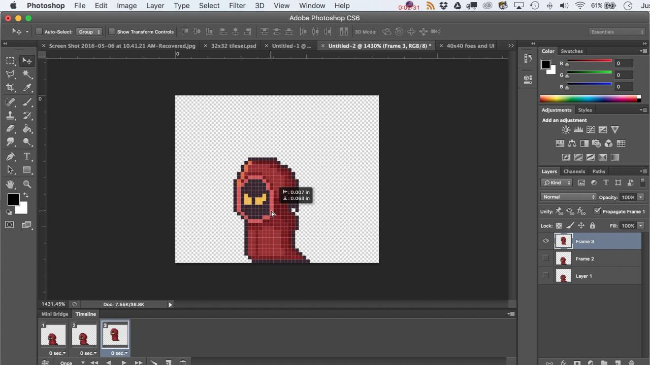 How to Use the Timeline in Adobe Photoshop to Export PNGs or Animated Gifs.