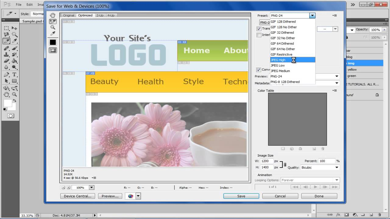 Photoshop export slices as download free clipart with a.