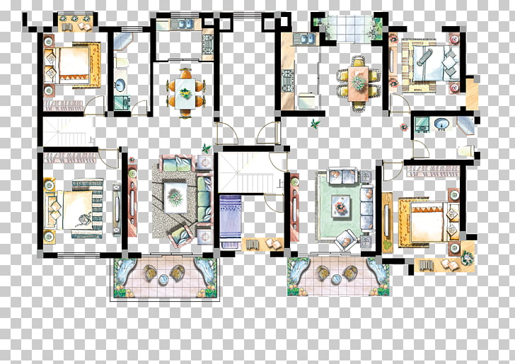 Floor plan Interior Design Services Graph, Size chart.