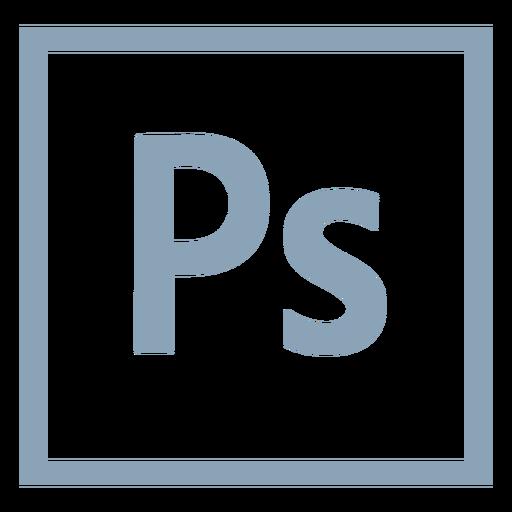 Photoshop ps icon.