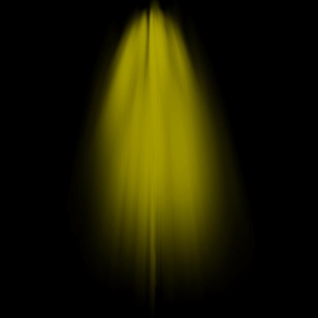 Yellow Sunlight Beam Psd Light Effect, Light Png For Picsart.