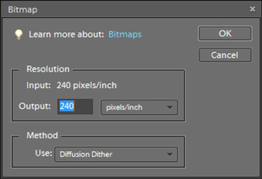 How to Convert Images to Bitmap Mode in Photoshop Elements 9.