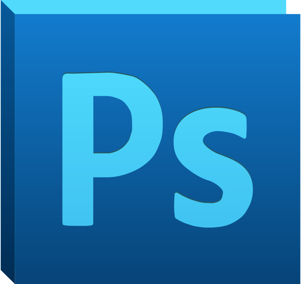 Photoshop logo PNG images free download.