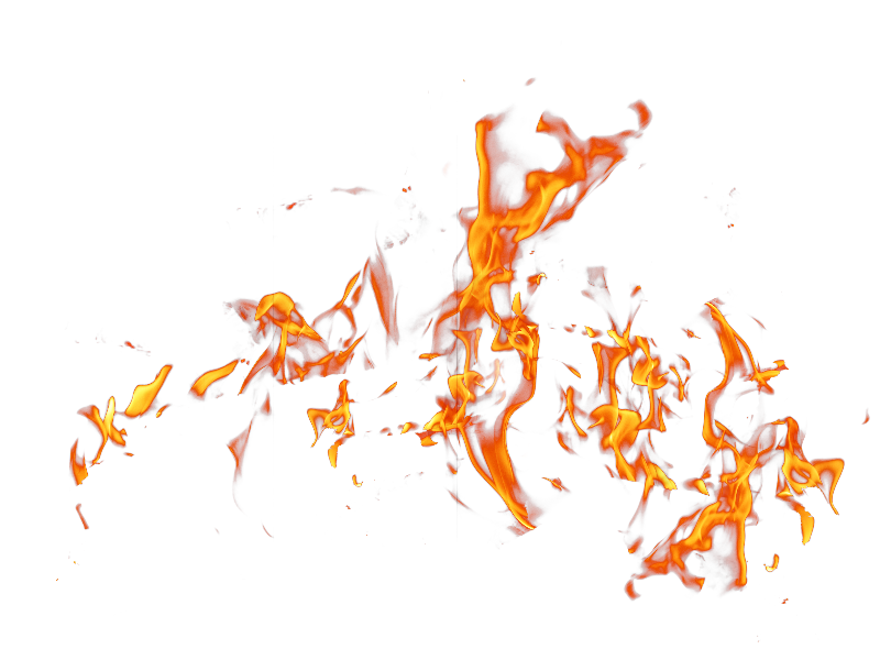 Fire PNG Effects Stock Image (Isolated.