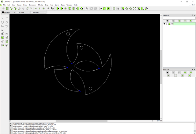 Converting PNG and Other Raster Files to DXF Format.