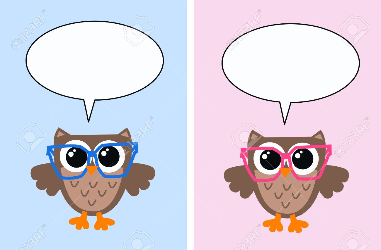 Showing post & media for Pink blue owl cartoon.