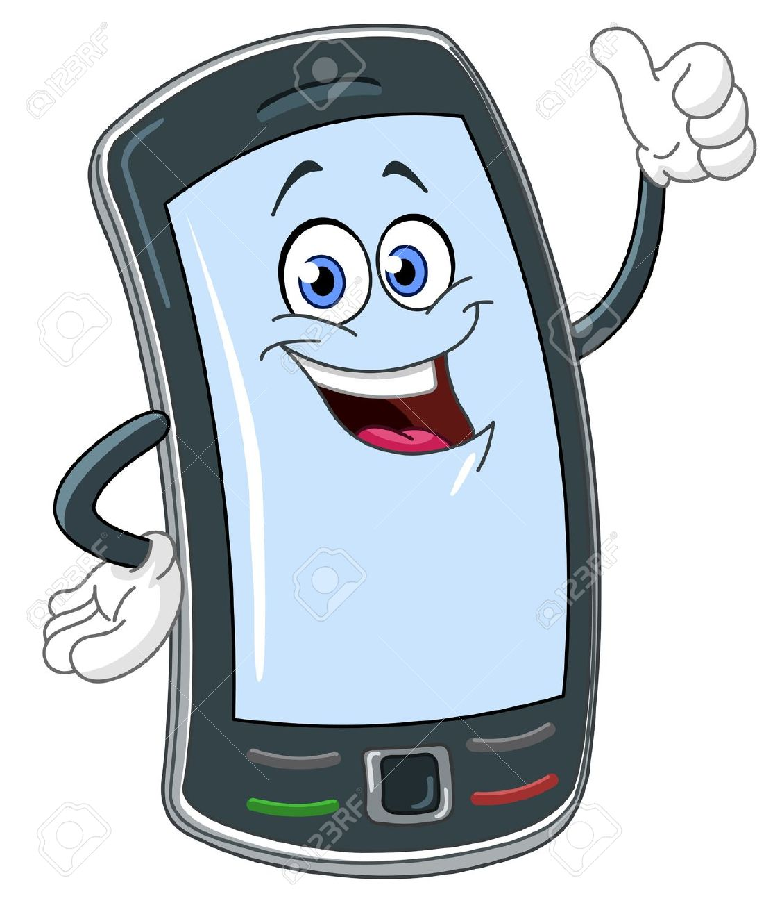 Showing post & media for Cellular phone cartoon.