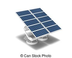 Photovoltaic Solar Panels, Solar Panel Free Clipart.