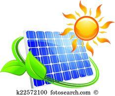 Photovoltaic Clip Art Vector Graphics. 607 photovoltaic EPS.