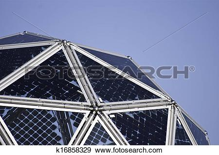 Stock Photograph of Innovative photovoltaic system k16858329.