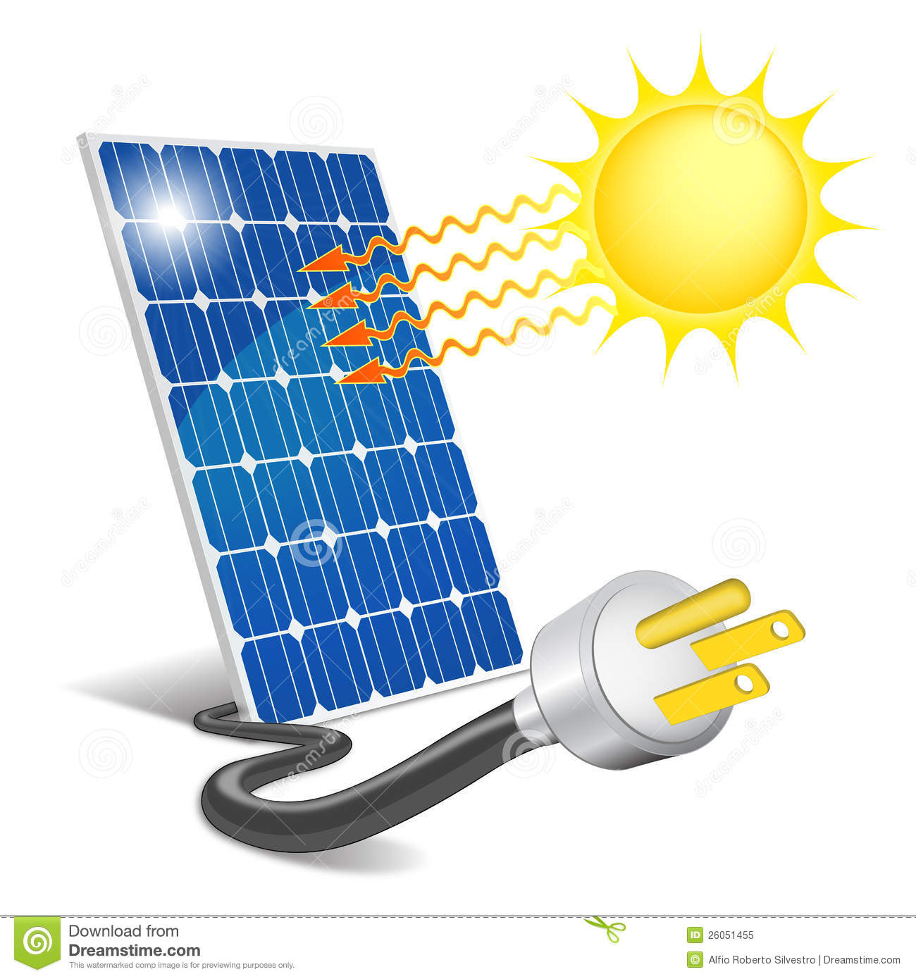 Photovoltaics Stock Illustrations.