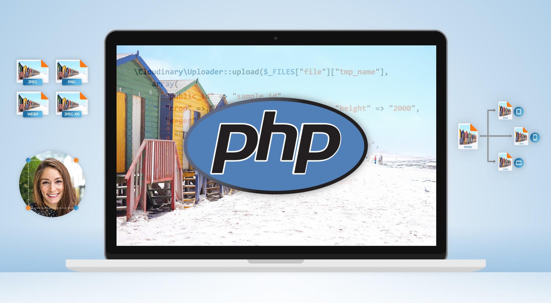 PHP Image Compression, Resize & Optimization.