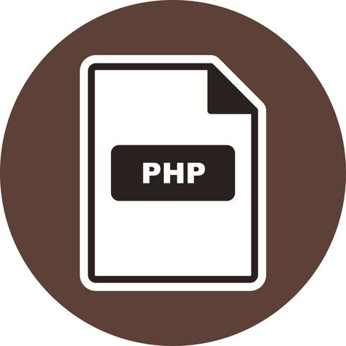 PHP Vector Icon.
