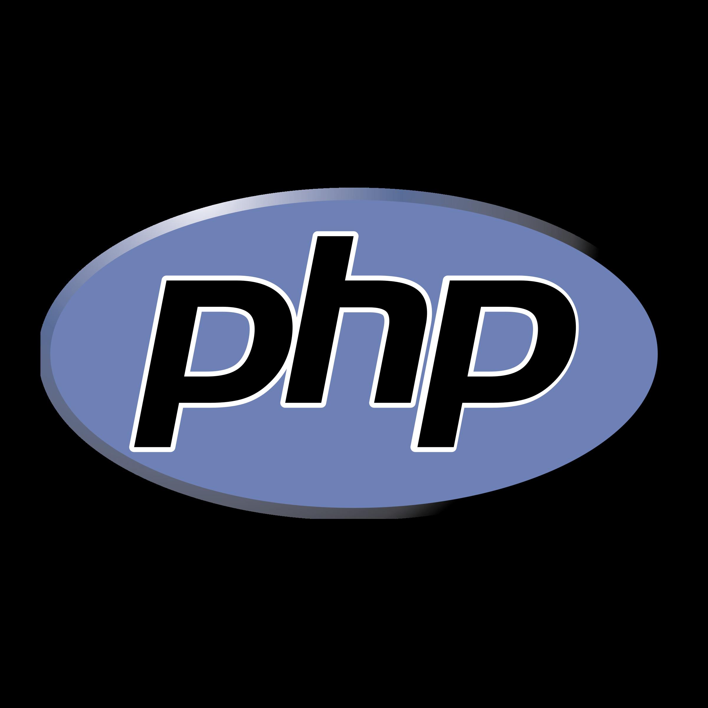 PHP logo PNG.