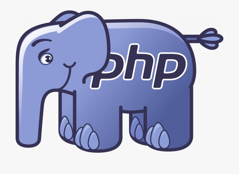 Php Elephant Logo Svg, Cliparts & Cartoons.