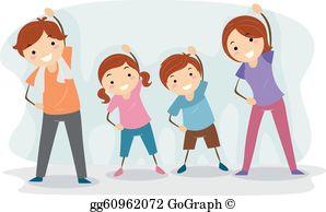 Physical Activity Clip Art.
