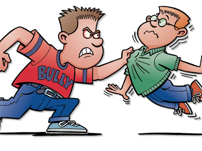 Physical bullying clipart 3 » Clipart Station.