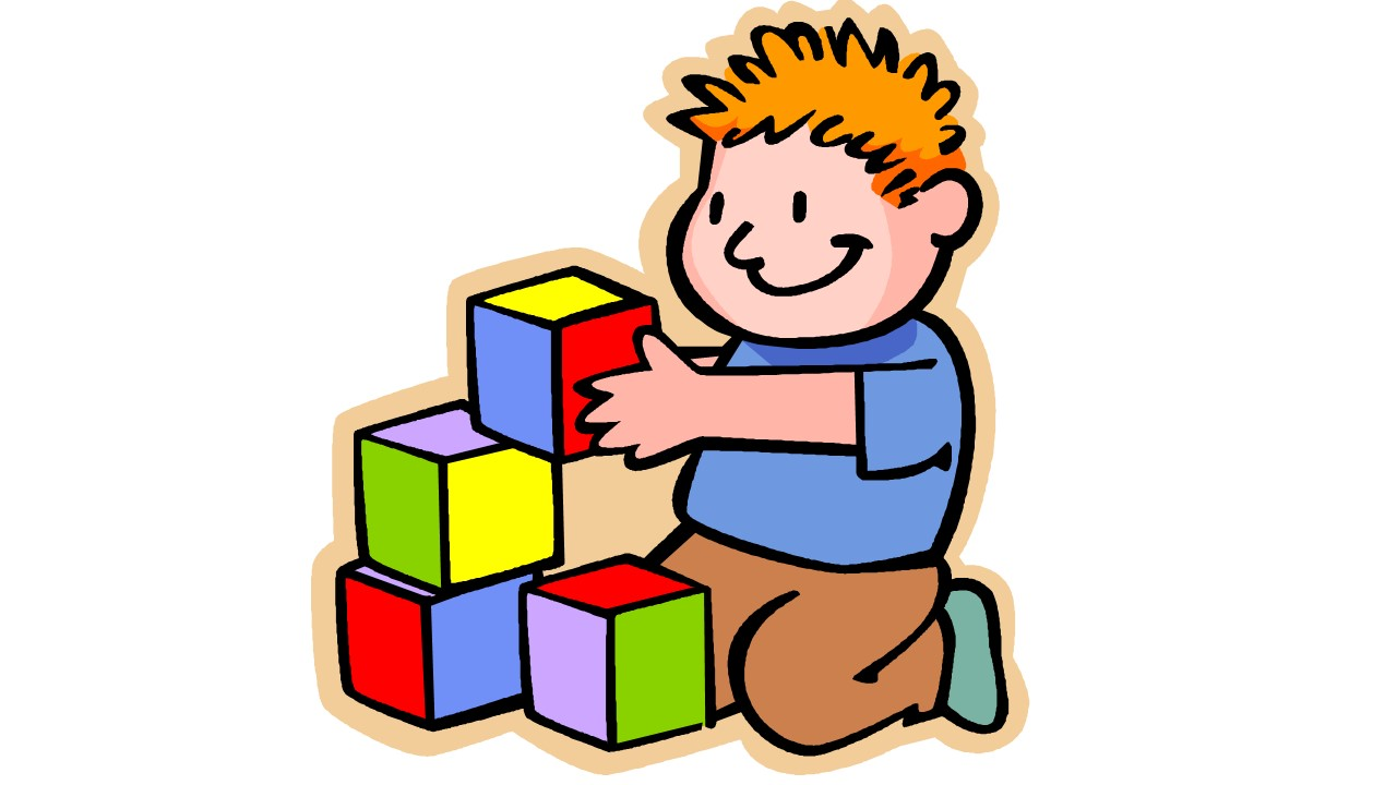 Physical development in children clipart.