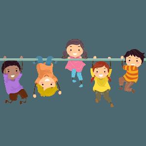 Social Development In Children Clipart.